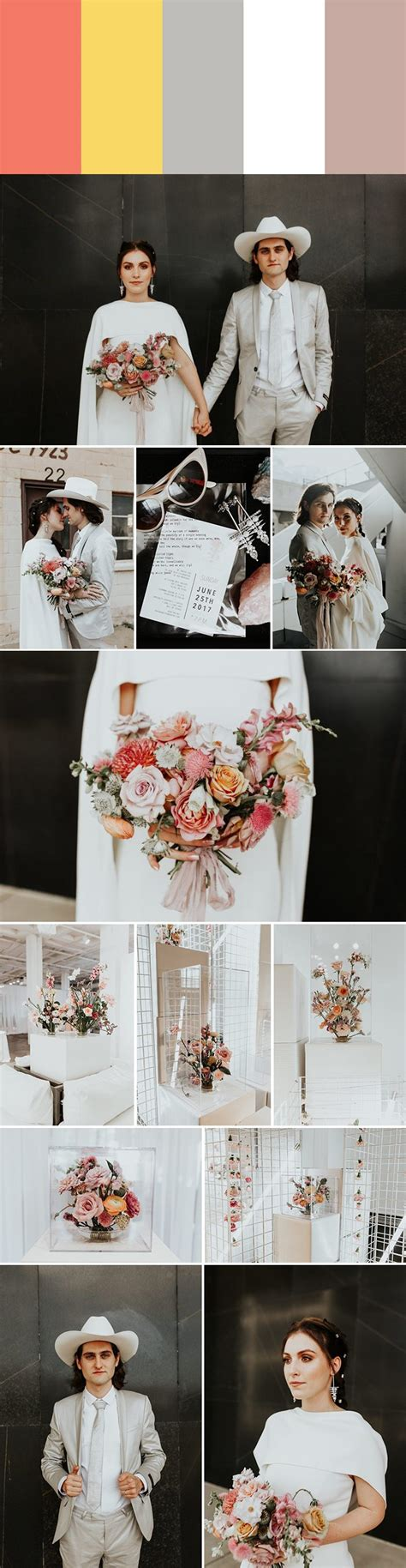 2018 Wedding Color Palette Inspiration Junebug Weddings