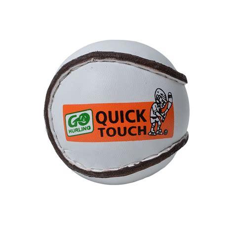 quick touch single sliotar cummins sports