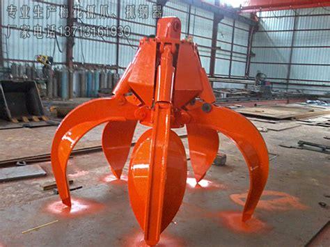 hydraulic orange peel grab orange peel grab long reach boomexcavator boom armexcavator