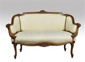 Next Settee by Walnut Framed Two Seater Settee Antiques Atlas