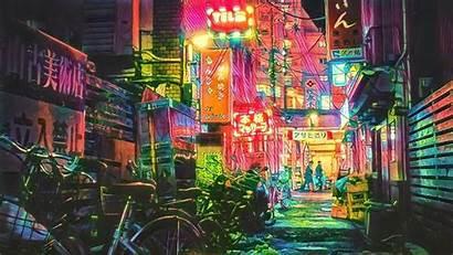 Tokyo Wallpapers Neon Desktop Filter Background 4k