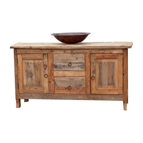 Vanity Purchase by Purchase Austere Barnwood Vanity