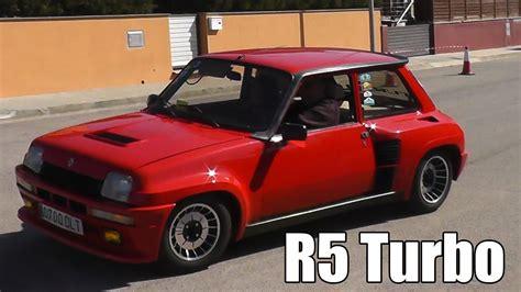 renault 5 turbo renault 5 turbo turbo 2 gt turbo copa turbo slalom