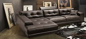 Soleado sectional gamma international italy italmoda for Gamma leather sectional sofa