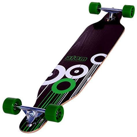 Atom Drop Deck Longboard Weight Limit by Atom Drop Through Longboard 41 Inch Wowcoolstuff