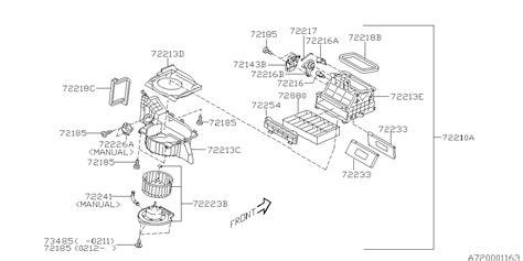 Subaru 2 5xt Engine Diagram by 72223sa020 Genuine Subaru Motor Assy