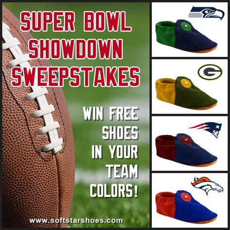 superbowl colors bowl showdown sweepstakes win a free pair of