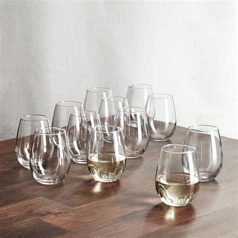 Stemless Wine Glasses 11.75 oz., Set of 12   Reviews