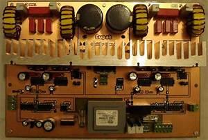 800w Class D Amplifier Circuit Ir2110 Pwm