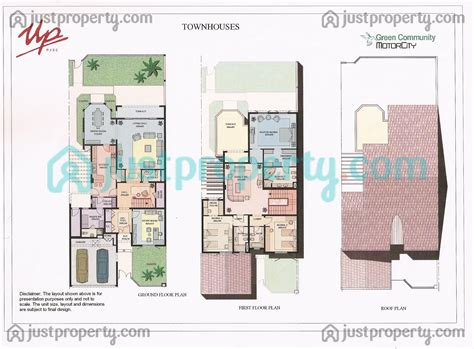 townhouses floor plans justpropertycom
