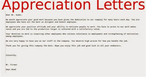appreciation letter for employees completing 1 year 28