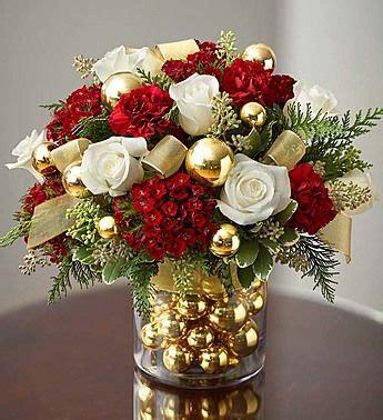 gorgeous christmas floral arrangement christmas floral