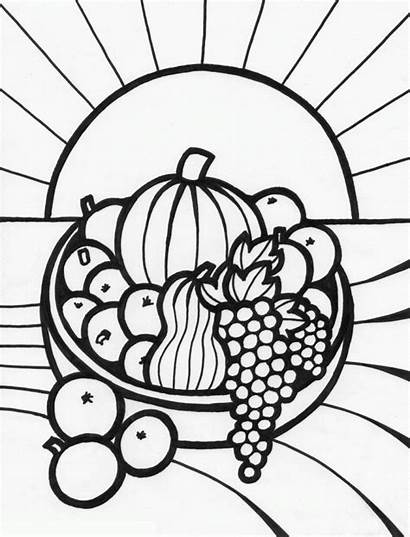 Coloring Fruit Pages Printable