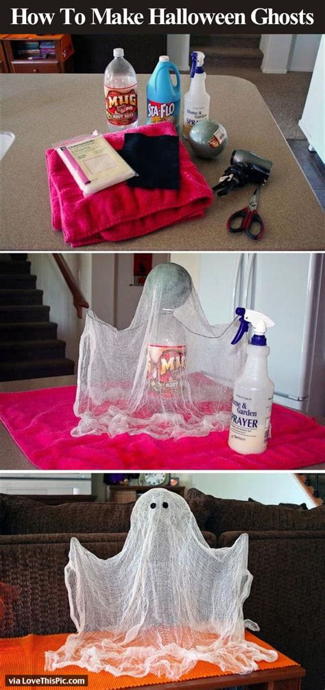How To Make Halloween Ghost Decorations Pictures, Photos