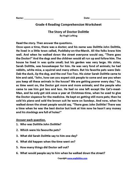 4th grade reading plot worksheets reading worksheets fourth grade reading worksheets