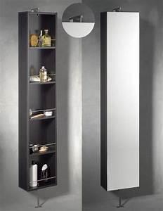 Armoire Rangement Salle De Bain : armoire pivotante salle de bains astuces rangement pinterest ~ Melissatoandfro.com Idées de Décoration