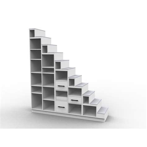 meuble escalier biblioth 232 que mezzanine mod 232 le longo