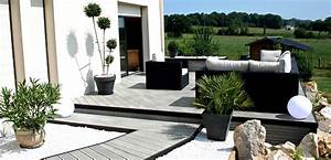 conseils pour amenager une terrasse contemporaine With idee terrasse exterieure contemporaine 6 terrasse moderne ma terrasse