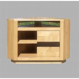 Meuble D Angle Tele : meuble d 39 angle t l oslo n 3 meubles de normandie ~ Teatrodelosmanantiales.com Idées de Décoration