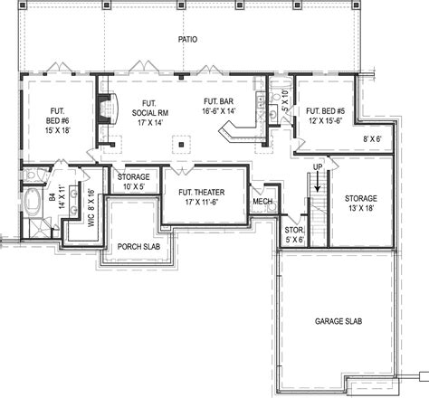 house plans house with basement plans and basement garage house plan