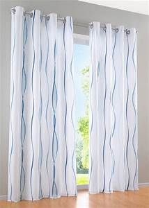 Vorhang Blickdicht Weiß : vorhang blau wei ansprechend auf kreative deko ideen f r ihre 2 st gardine vorhang 140 x 225 ~ Buech-reservation.com Haus und Dekorationen