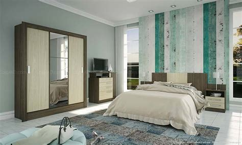 HD wallpapers quarto de casal pequeno decorado com guarda roupa