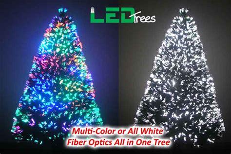 Fiber Optics Christmas Trees Artificial by White Fiber Optic Christmas Tree Lizardmedia Co