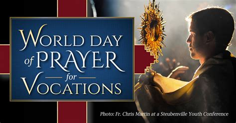 world day  prayer  vocations diocese  altoona