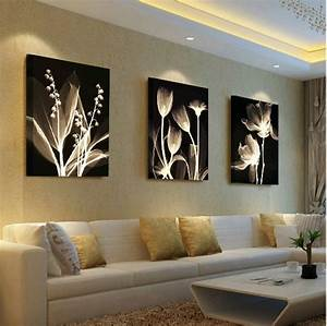 Living room decorative painting Modern sofa background