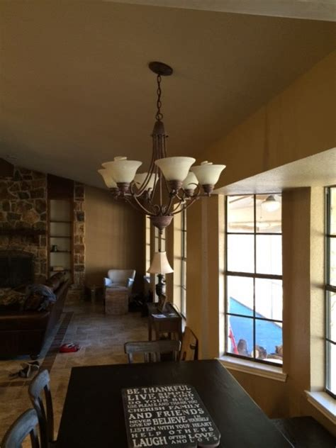 how to hang pendant lights mounting a large light fixture to sloped ceiling good or