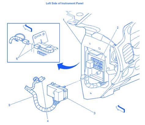 Chevy Impala Under Dash Electrical Circuit Wiring