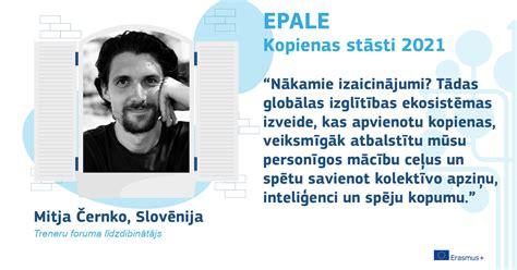 Mitja Černko: attīstām spējas mācīties un iesaistīties   EPALE