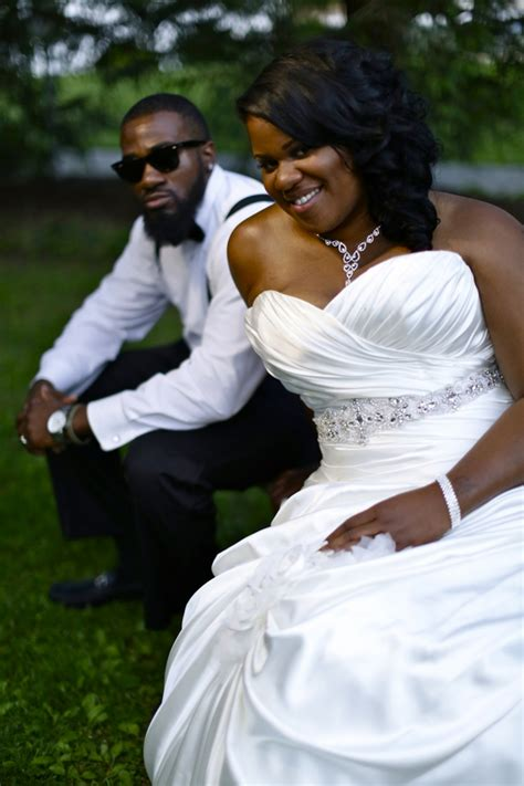 sweet black white wedding  big fat african wedding