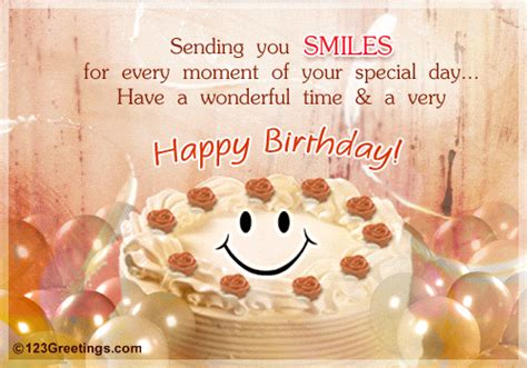 a sweet wish free smile ecards greeting cards 123 greetings