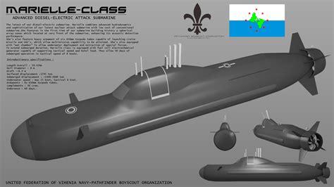 digital ballast marielle class submarine by stealthflanker on deviantart