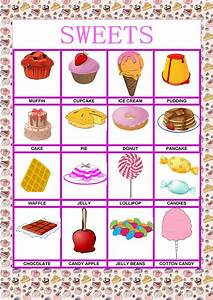 Poster - Food - Sweets Worksheet