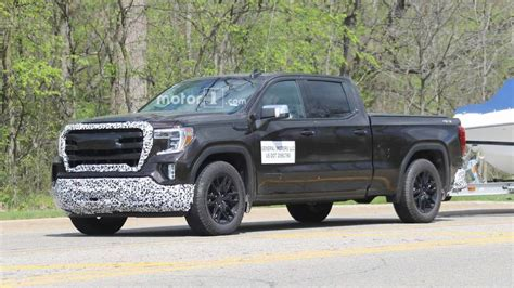 2019 Gmc Sierra Elevation Spied Trying To Hide Stylish