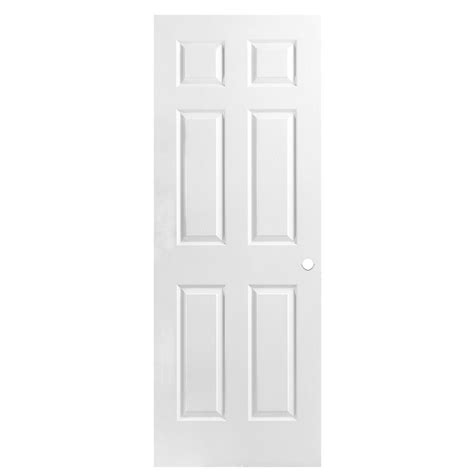 6 panel interior doors shop masonite hollow 6 panel slab interior door