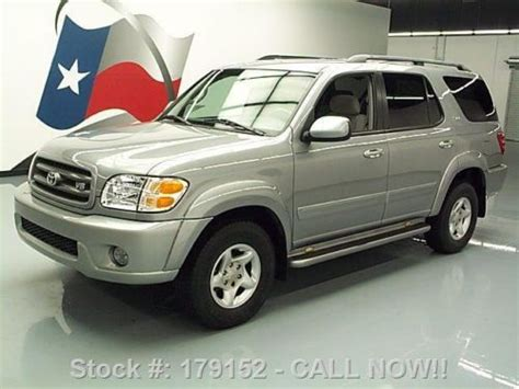 2003 Toyota Sequoia Sr5 V8 by Buy Used 2003 Toyota Sequoia Sr5 V8 8 Pass Running Boards