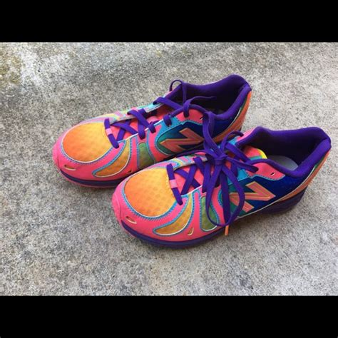 new balance new balance colorful size 3 youth from