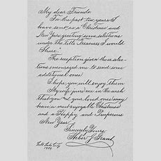 The Lost Art Of Cursive Writing Heber J Grants Handwriting  My Model For Improving My Own
