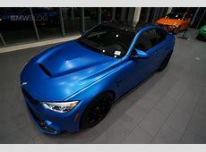 West Coast Customs BMW M4 GTS in Satin Perfect Blue