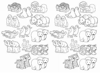 Ark Noah Coloring Printable Animals Pages