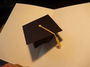 graduation cap pop card template best free home With graduation pop up card template