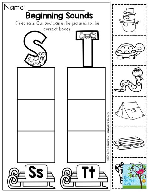 beginning sounds cut and paste the pictures to the 215 | cd06fa95f14a9a4d0ef18cd0469075e5 beginning sounds preschool alphabet
