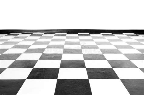 vintage square black and white floor royalty free stock