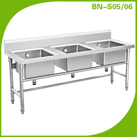 3 compartment sink for sale manfacturer kitchen stainless steel 3 compartment kitchen