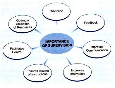 importance  role  supervision   organization