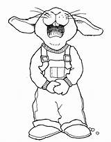 Easter Overalls Drawings Coloring Rabbit Drawing Pages Bunny Mormon Outline Lds Colouring Template Clipart Happy Cartoon Getdrawings Mormonshare Sketch sketch template
