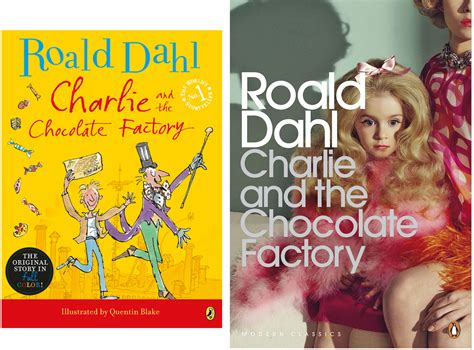 Cover Art For Charlie And The Chocolate Factory Shows Dark